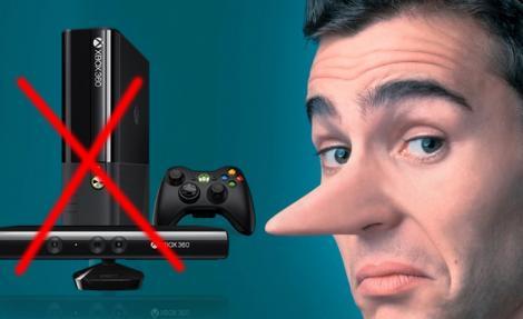 Microsoft blocheaza Xbox 360 pentru utilizatorii mincinosi