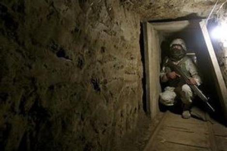 Punct ochit, punct lovit! Un nou tunel al cartelurilor mexicane, inchis
