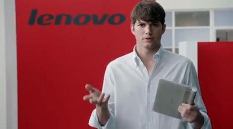 Fara gluma, Ashton Kutcher devine inginer de produs la Lenovo