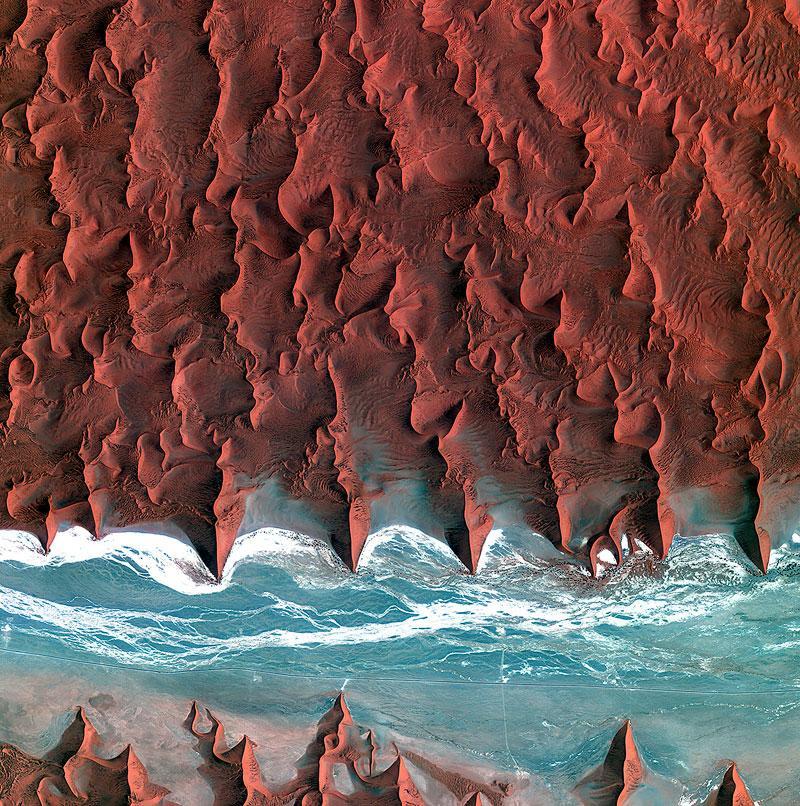 GALERIE FOTO! Bogățiile Terrei! O colecție de imagini ULUITOARE din satelit