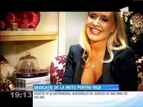 Vica Blochina, între Mutu şi Pițurcă