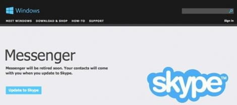 Microsoft inchide Windows Messenger in aprilie