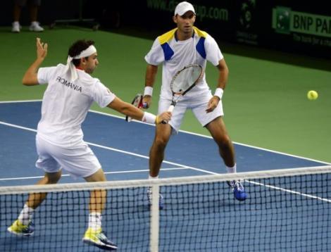 Cupa Davis: Florin Mergea si Horia Tecau aduc victoria Romaniei cu Danemarca