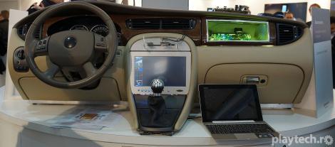 MWC 2013: Masina viitorului va avea integrat un PC complet, prin Renesas