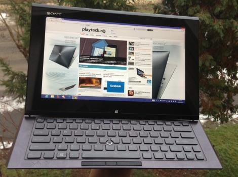 Sony Vaio Duo 11 – Un ultrabook cu veleitati de tableta