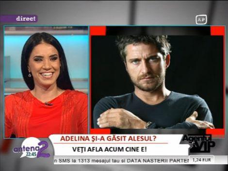 """Adelina Pestritu despre Gerard Butler: """"E febletea mea"""""""