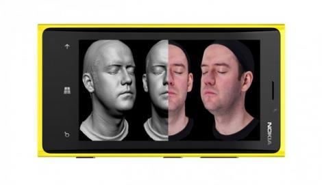 Windows Phone 8 poate realiza scanari 3D