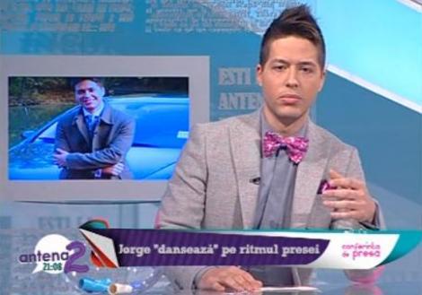 """Jorge: """"Mi-am dorit foarte mult sa prezint Romania Danseaza."""" Afla detalii din culisele celui mai tare show!"""