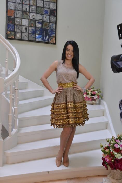 Adelina Pestritu isi scoate la licitatie o rochie pentru un caz umanitar. Afla despre ce este vorba!