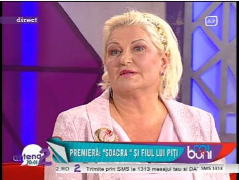 """Mama Vicai Blochina despre Victor Piturca: """"Arata ca un tanar de 25 de ani. Are un corp bun"""""""
