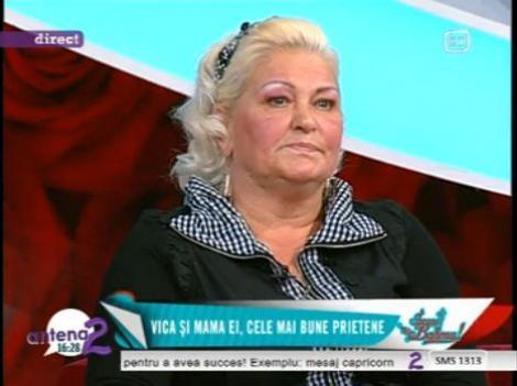 """Mama Vicai Blochina i-a transmis un mesaj lui Victor Piturca: """"Astept sa-ti vina mintea la cap"""""""