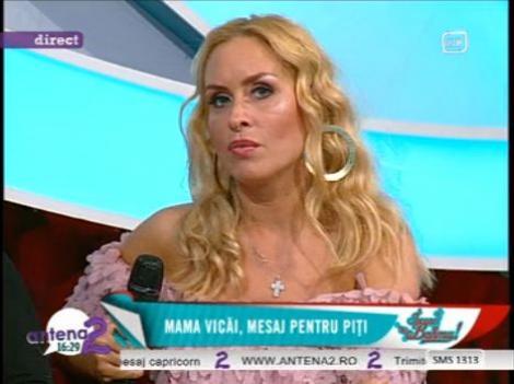 "Vica Blochina inca il mai iubeste pe Piturca: ""Acum, cand toata lumea il injura, pe mine ma doare"""