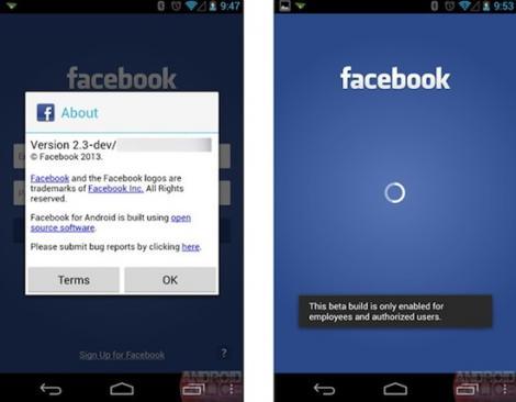 Facebook Home va inlocui ecranul de pornire al unui smartphone Android