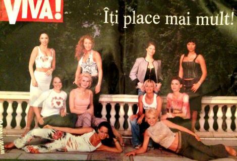 FOTO DE COLECTIE! Andreea Marin, Mihaela Radulescu, Andreea Raicu si alte vedete, impreuna, la inceputul carierei, pe coperta unei reviste