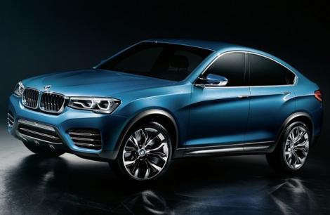 Galerie FOTO! Au aparut primele poze cu BMW X4, fratele mai mic al versiunii X6