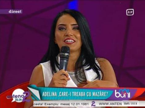 "VIDEO! Adelina Pestritu intr-o emisiune tv: ""Sunt insarcinata cu gemeni!"""