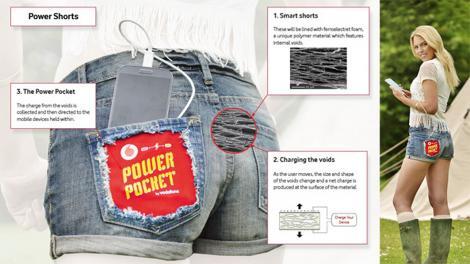 ASA arata pantalonii care incarca bateria telefonului!