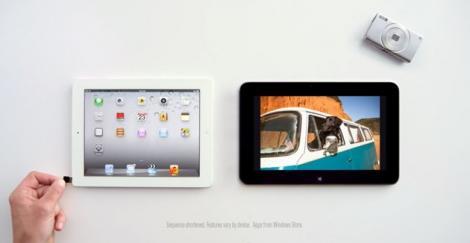 Microsoft critica din nou iPad-ul printr-o noua reclama