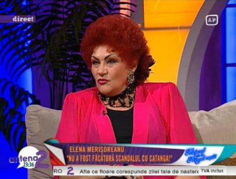 "Elena Merisoreanu, recunoscatoare Corneliei Catanga: ""Mama ei m-a salvat cand aveam 16 ani"""