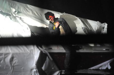 Primele imagini cu Djohar Tarnaev in momentul capturarii