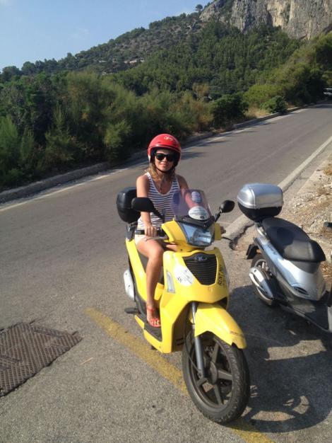GALERIE FOTO! Mirela Boureanu Vaida, vacanta de vis in Italia