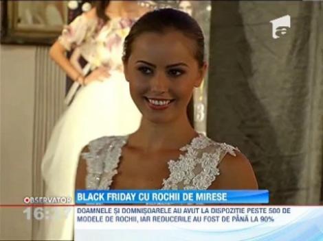 Primul Black Friday cu rochii de mireasa, din Romania