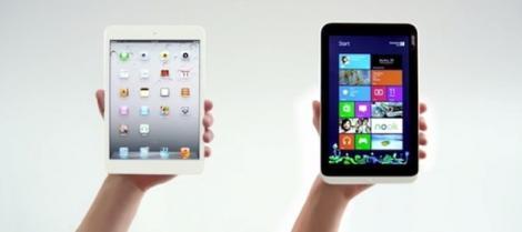 Microsoft ataca iPad Mini, in cea mai noua campanie anti-Apple