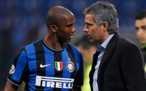 Eto'o renunta la bani pentru a fi antrenat din nou de Jose Mourinho