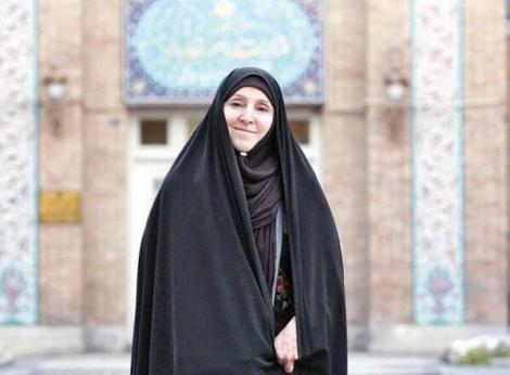 Moment istoric! Prima femeie din Iran care a fost numita purtator de cuvant