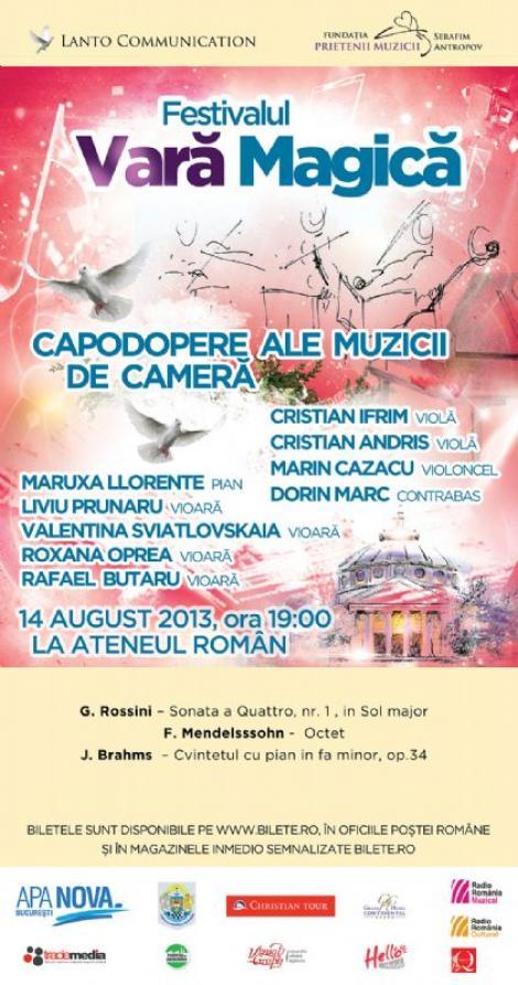 Cele mai scumpe instrumente muzicale din lume, in concert la Ateneul Roman