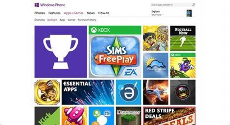 Popularitatea Windows Phone Store a atins un prag important