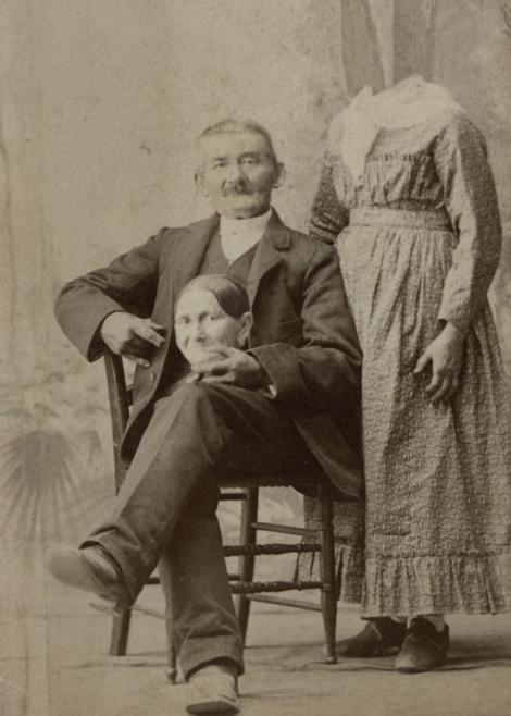 Galerie FOTO: Photoshop, varianta anilor 1800! Primele exemple de poze trucate