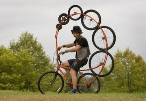 Galerie foto! Cele mai haioase biciclete