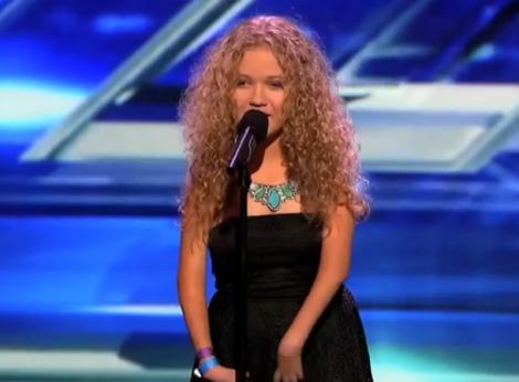 """X Factor SUA: La 13 ani, a obtinut """"cel mai usor DA"""" de la Simon Cowell si 4 milioane de fani pe YouTube!"""