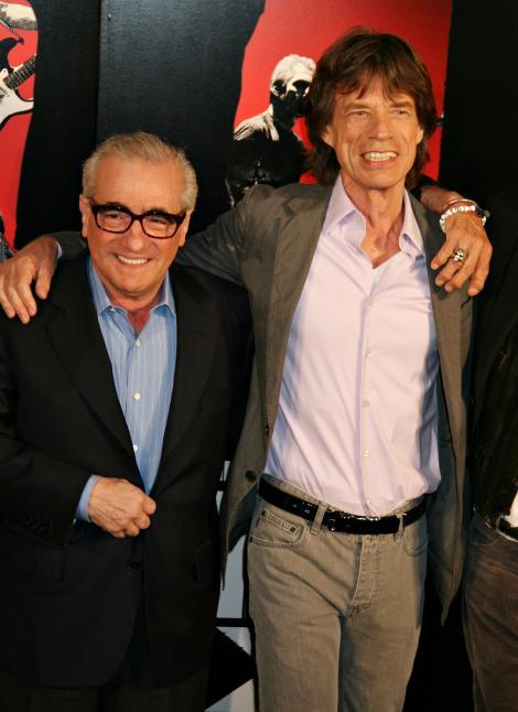 Martin Scorsese regizeaza un serial inspirat de Mick Jagger si David Bowie
