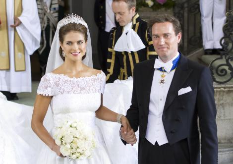 Inca un copil regal! Printesa Madeleine a Suediei este insarcinata