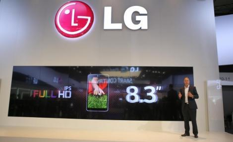 """LG GPad 8.3 – O noua tableta pentru cei cu """"buzunare largi"""""""