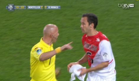Moment penibil pentru Ricardo Carvalho! Fundaşul lui Monaco a luat tricoul invers