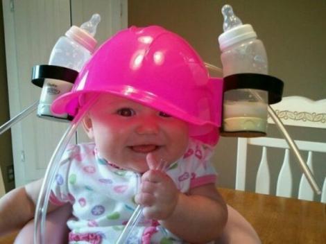 FOTO! Rezerva de lapte pe care și-ar dori-o toți bebelușii