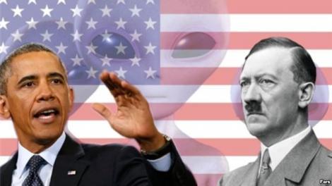 """Guvernul american e condus de EXTRATEREȘTRII naziști""! Cine crede asta?"