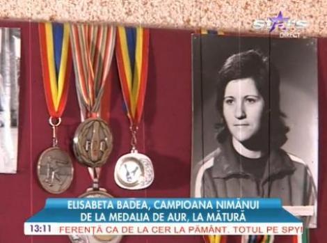 Strigător la cer! Elisabeta Badea, campioana nimănui: de la medalia de aur, la mătură