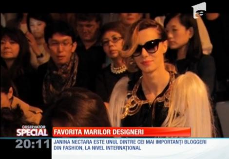 Special! Janina Nectara, blogger-ul de modă care a luat lecții de la Karl Lagerfeld și Sonia Rykiel