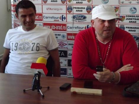 Circ la Arad! Jucătorii de la UTA au avut doi antrenori la reunirea lotului