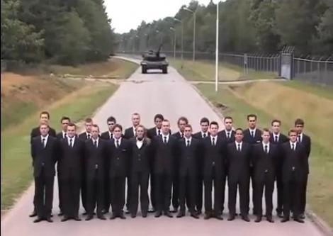 VIDEO! Metoda extremă de a testa frânele unui tanc