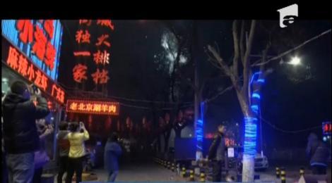 Chinezii au sărbătorit intrarea în Anul Calului cu economie la artificii
