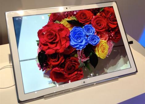 Tableta cu ecran 4K de la Panasonic se vinde la un preţ ostentativ