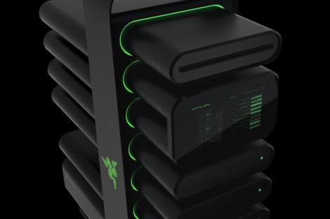 CES 2014: Razer: Project Christine – Un PC complet modular care arată incredibil de bine