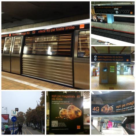 Orange și Initiative îi invită pe bucureșteni să experimenteze Metroul Orange 4G!