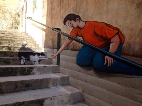 GALERIE FOTO: SUPERB! Top 15 scări din întreaga lume pictate cu povești