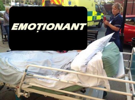 FOTO: Toţi medicii au izbucnit în lacrimi! Bolnavă de CANCER, a avut o ultimă dorinţă! A MURIT la câteva minute după ce şi-a îndeplinit-o